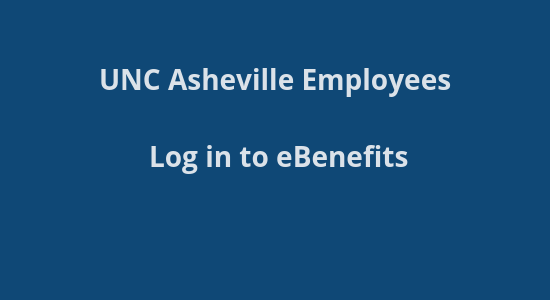 UNCA Benefits site login