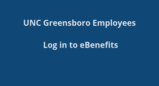 UNCG Benefits site login