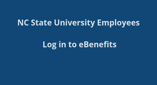 NCSU Benefits site login