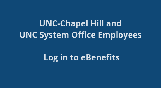 UNC-CH Benefits site login