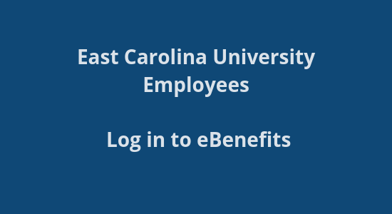ECU Benefits site login