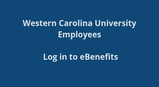WCU Benefits site login