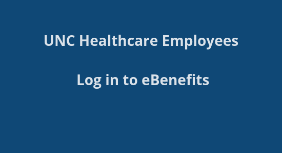 UNC Healthcare Benefits site login