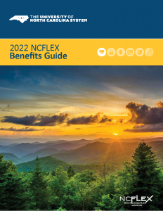 cover of NCFlex benefits guide